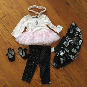 NWT Baby Ballerina Set